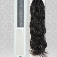 100% RAW Unprocessed Russian Natural Wave Virgin Remy Human Hair Extensions