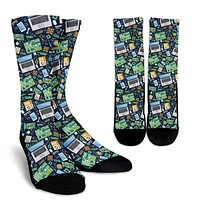Computer Tech Socks