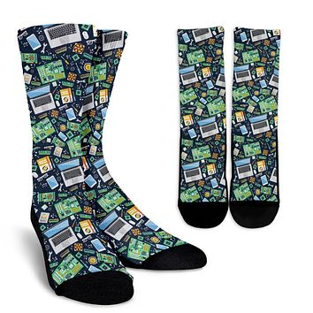 Computer Tech Socks - Promo