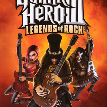 Guitar Hero III Video Game Poster 22x34