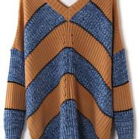 @Free Shipping@ Women Blends Multi-Colored Sweater One Size omss013mc from Voguegirlgo