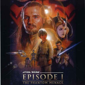 Star Wars Phantom Menace Movie Poster 22x34