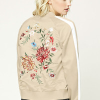 Contemporary Embroidered Souvenir Jacket
