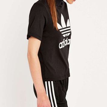 adidas Berlin Black High Neck Tee - Urban Outfitters