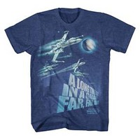 Men's Star Wars X-Wing T-Shirt Navy : Target