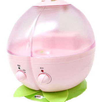 Humidifier for cute peach and HIROTec humidification with peach [HK-009PE] puritsu ☆