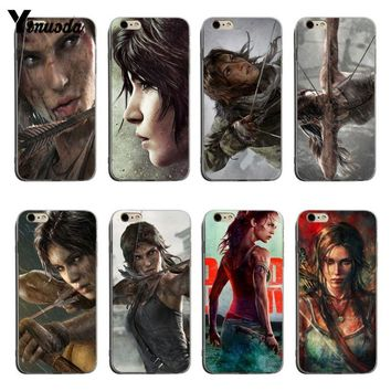 Yinuoda Tomb raider wallpaper Newest Super Cute Phone Cases For iPhone XSMax X XS XR 7 7Plus 8 8plus 6 6s 6plus