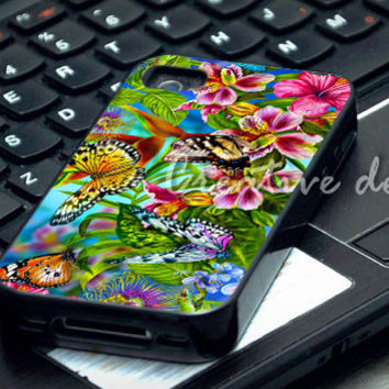 Beautiful Butterfly Wallpapers case for iphone 4/4S, iphone 5/5C, samsung galaxy s3, samsung galaxy s4, ipod 4 and ipod 5
