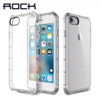 Case for iPhone 7/7 Plus Case Original ROCK Fence Series Anti knock Drop Protection Brand Phone Case for iPhone7 Cover