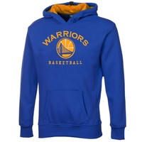 Golden State Warriors Youth Exclusive MVP Pullover Hoodie – Royal Blue