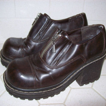 Chunky Platform Shoes in Women's Size 8