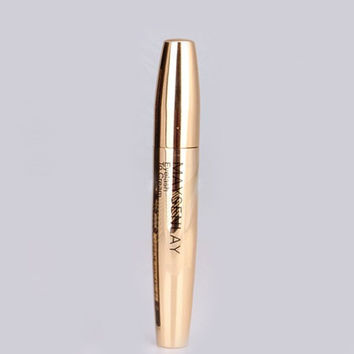 Cosmetic Golden Smudge-Proof Waterproof Lengthen Mascara