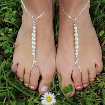 Ladies Sexy Jewelry Shiny Cute New Arrival Gift Summer Stylish Pearls Handcrafts Anklet [8080501511]