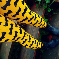 Super Hero Bats Leggings pants custom size