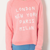 Cities Tri Wool Sweat