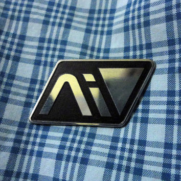 Handmade Andromeda Initiative pin badge
