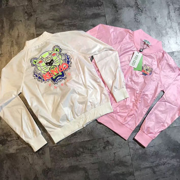 Kenzo Summer Women Thin type Windbreaker Jacket