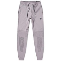Nike Men's Sportswear Tech Knit Joggers Gunsmoke Grey Pants 892553-036