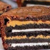 Oreo Peanut Butter Brownie Cookies Pkg. of 8