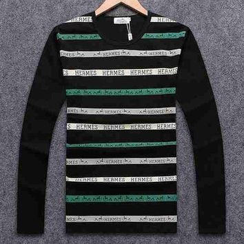 Hermes Top Sweater Pullover-1