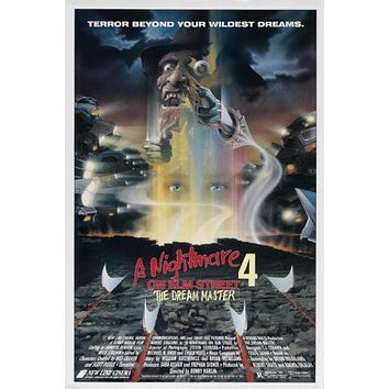 Sale!  Nightmare On Elm Street Part 4 Movie Poster 24inx36in Poster