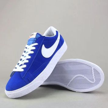 Wmns Nike Blazer Mid Sde Fashion Casual Low-Top Old Skool Shoes-5