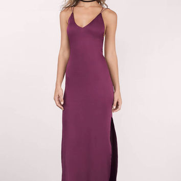 Timeless Strappy Back Maxi Dress