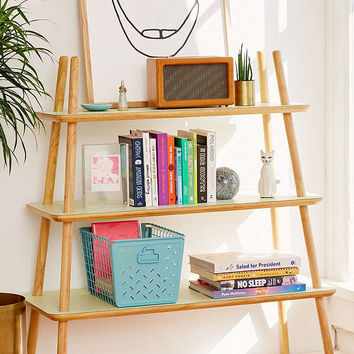 Agatha Tiered Wooden Bookshelf | Urban Outfitters
