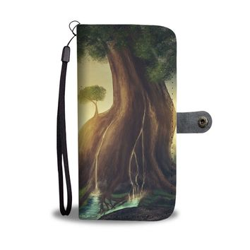 Spring of Life Wallet Phone Case
