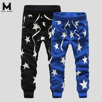 Mens Jogger Pants Outdoors Joggers Men Hip Hop Harem Pants Sweat Pant Men Trousers Wear Workout Bodybuilding Clothing Pants