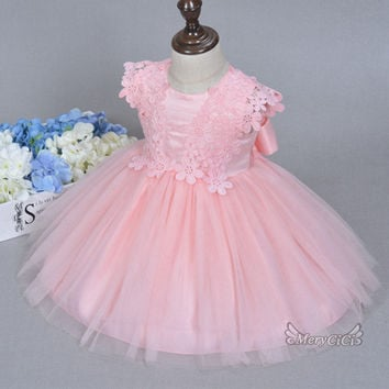 1 Baby/Toddler Princess Floral Lace Dress