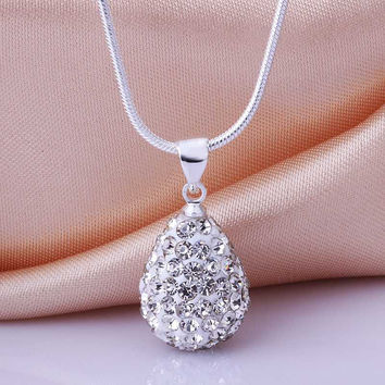 Shamballa pendants silver crystal patek men jewelry MP