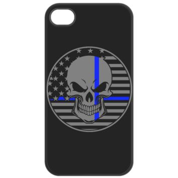 Thin Blue Line Cell Phone Case iPhone 4/4S Case thinbluelinecellphonecase