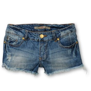 Highway Jeans Mallorie Destructed Denim Shorts