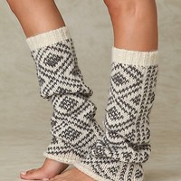 Free People Peruvian Pattern Legwarmer