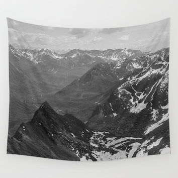 Archangel Valley Wall Tapestry by Kevin Russ