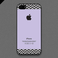 iPhone 5 Case  Chevron pattern on violet color  also by evoncase