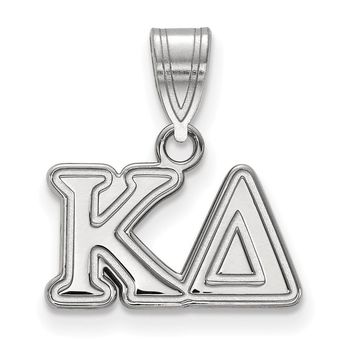 Sterling Silver Kappa Delta Medium Pendant