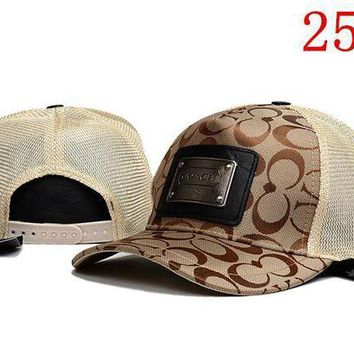 ICIKUN3 COACH embroidery Strap Cap Adjustable Golf Snapback Baseball Hat