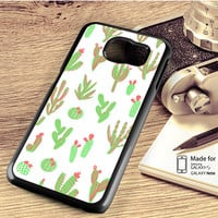 Cactus Vector Samsung Galaxy S4 S5 S6 S6 Edge S6 Edge Plus S7 S7 Edge Case Note 3 4 5 Edge Case