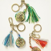 Monogrammed Filigree Keychain by Anthropologie Assorted