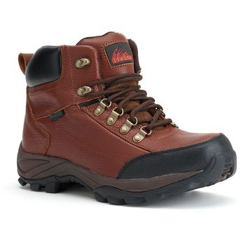 Itasca Tempest Men's Wide-Width Hiking Boots (Brown)