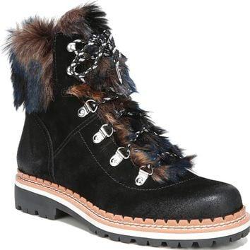 Sam Edelman Bronte Faux Fur Trim Boot (Women) | Nordstrom