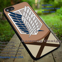 The Costume Attack on Titan iPhone 6s 6 6s+ 5c 5s Cases Samsung Galaxy s5 s6 Edge+ NOTE 5 4 3 #cartoon #anime #attackontitan DOP758