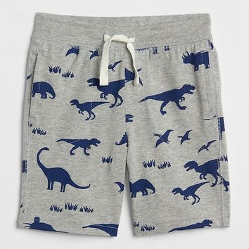 Pull-On Print Shorts|gap