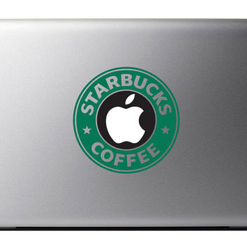 Starbucks MacBook Decal Apple Mac Book iPad