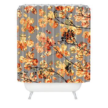 Garima Dhawan Dogwood Quilt Shower Curtain