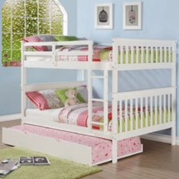 Donco Kids Full over Full Bunk Bed You'll Love