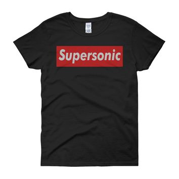 Supersonic Oasis Red Box Women'S T Shirt
