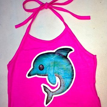SWEET LORD O'MIGHTY! Lil Dolphin Halter